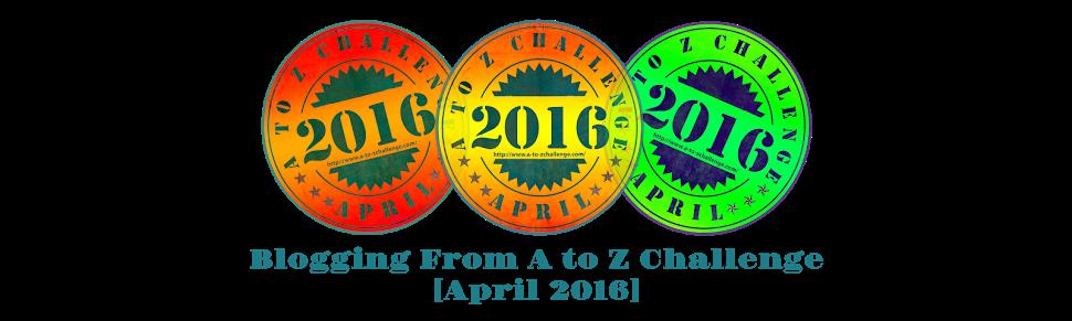 a-to-z HEADER [2016] - april